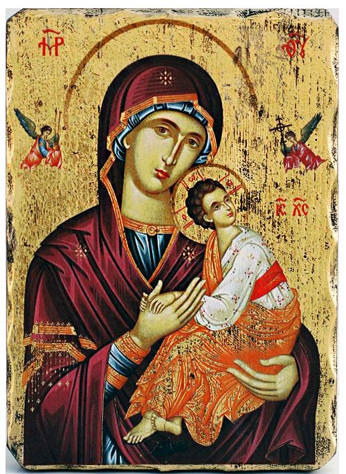 Света Богородица Одигитрия, луксозна, 162х225 мм