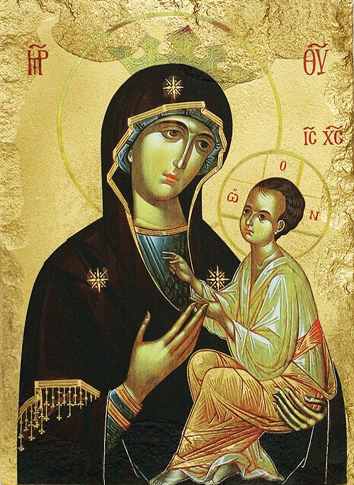 Икона на Пресвета Богородица Всецарица