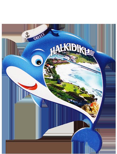 Магнит HALKIDIKI делфин
