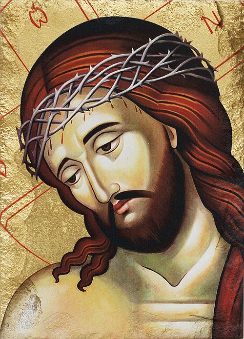 Икона на Исус Христос с трънен венец