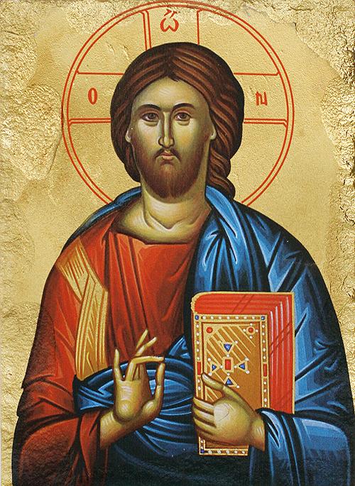 Икона на Исус Христос Пантократор