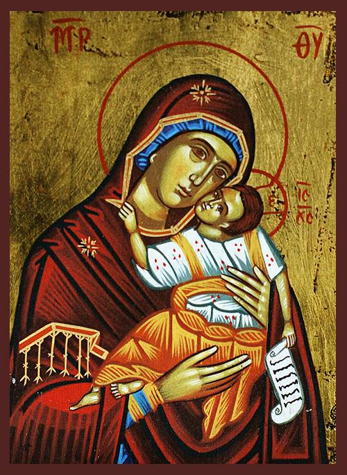Икона на Божията Майка с Младенеца