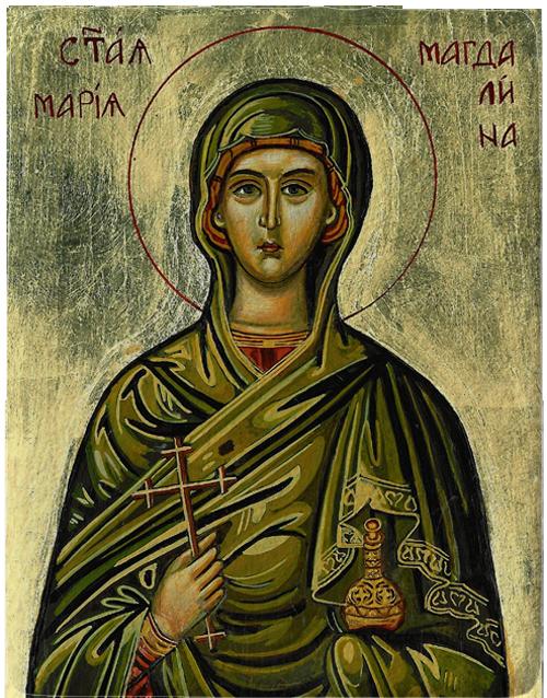 Магнит репродукция на икона Света Мария Магдалена