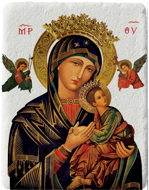 Магнит репродукция на икона Богородица