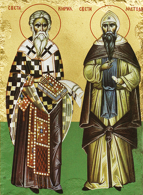 Икона на Св. Св. Кирил и Методий