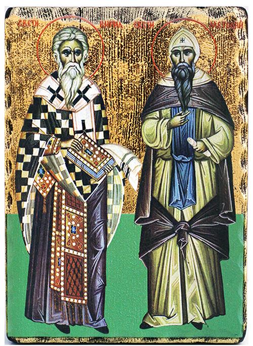 Икона репродукция на Св. Св. Кирил и Методий