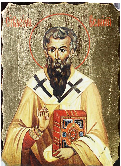 Икона на Св Василий Велики