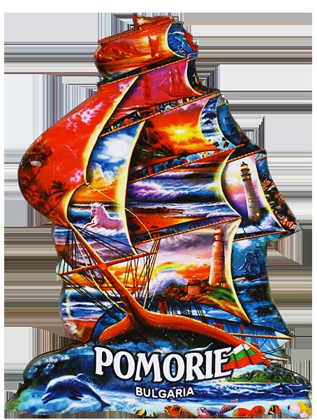 """Магнит """"POMORIE"""" корабче"""