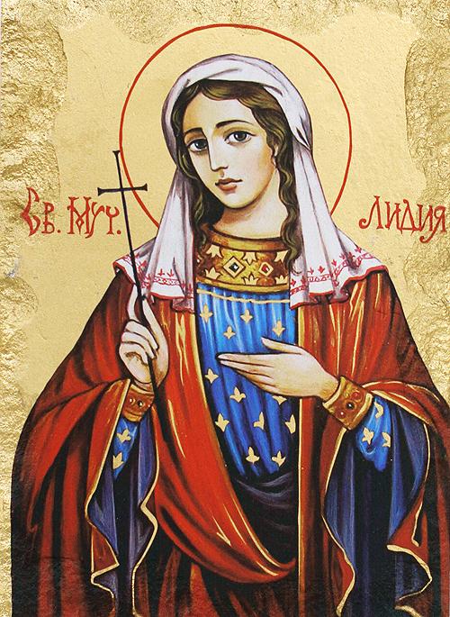 Икона на Света Лидия