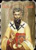 Икона на Св Василий Велики, дърво