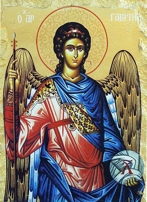 Икона на Свети архангел Гавраил