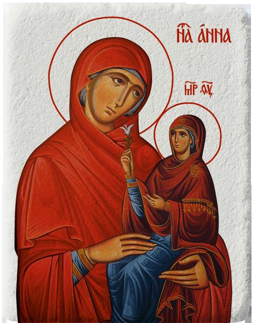 Магнит на Света Анна със Света Богородица
