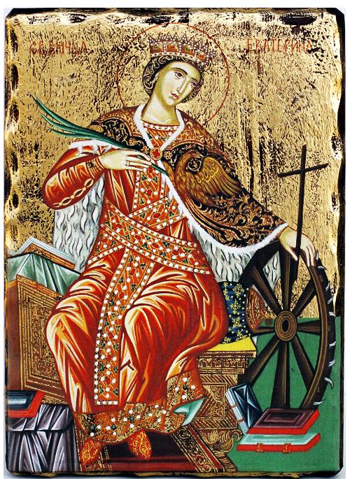 Икона на Света Великомъченица Екатерина