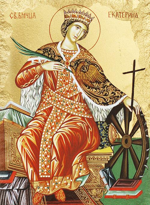 Икона на Света Екатерина