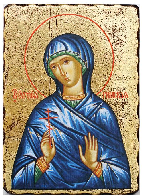 Икона на Света Евгения