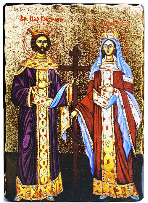 Икона на Свети Константин и Елана
