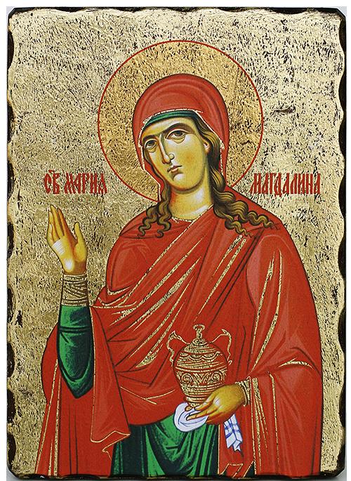 Св. Мария Магдалена, 165x225, златно фолио