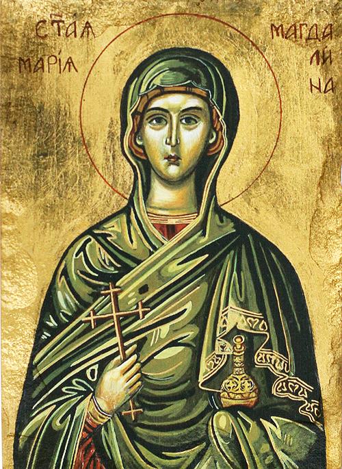 Икона на Света равноапостолна Мария Магдалена