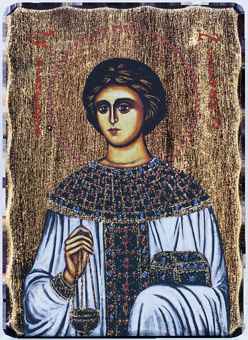 Икона на Св. Стефан - репродукция