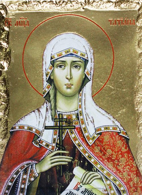 Икона на Света Татяна