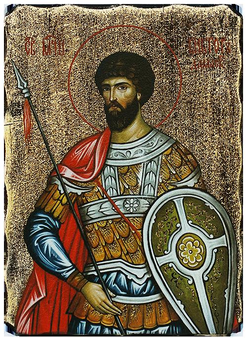 Икона Свети мъченик Виктор Даамаски