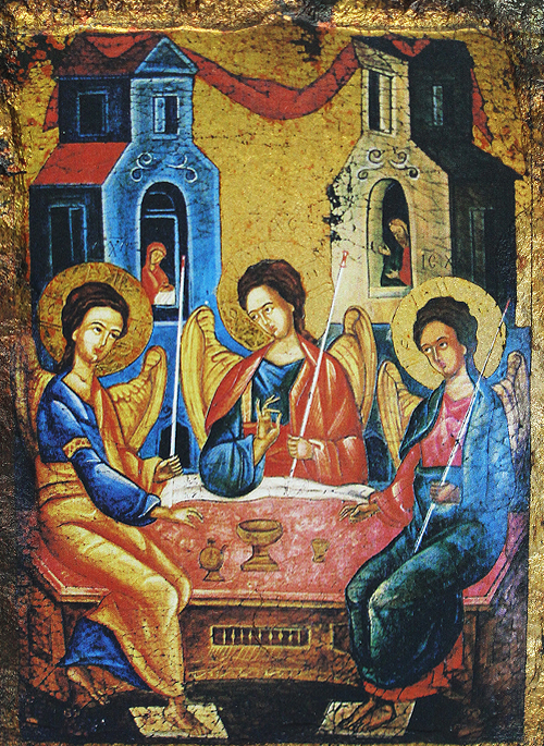 Икона на Света Троица Старозаветна